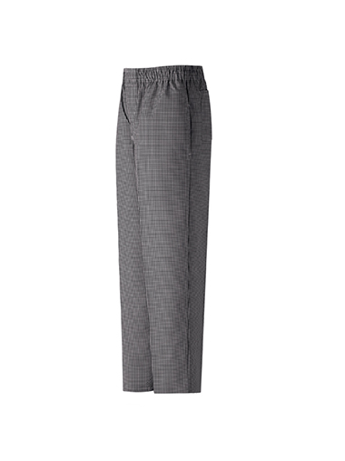 Yarn Dye Checked Baggy Chef Pant